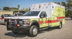 Santa Fe Fire & Rescue EMS Vehicle
