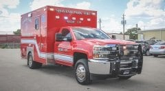 Shavano Park EMS Vehicle