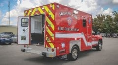 Shavano Park EMS Vehicle