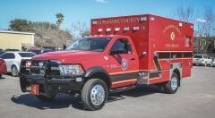 Suwannee County Fire Rescue EMS Vehicle