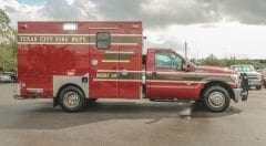 Texas City Fire Department EMS Vehicle