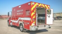 Thornton Fire Rescue EMS Vehicle