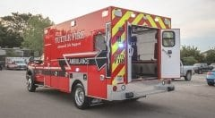 Tuttle Fire EMS Vehicle