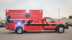 Tuttle Fire EMS Vehicle