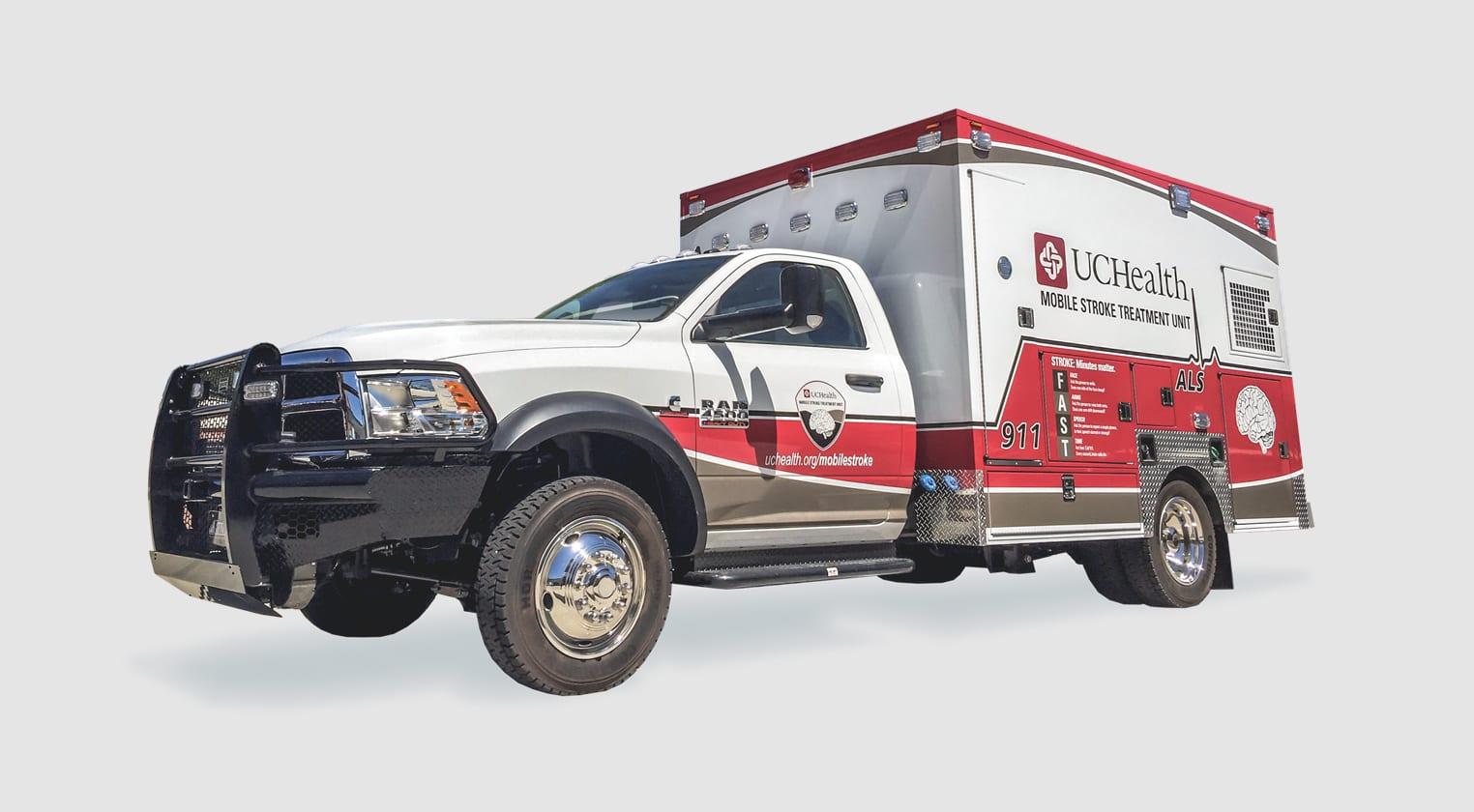 Customer Delivery - UCHealth Mobile Stroke Unit - Frazer, Ltd