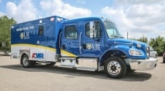 Mobile Stroke Unit Passenger Side