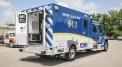 Mobile Stroke Unit Rear