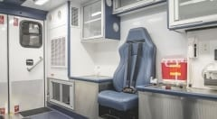 Mobile Stroke Unit CPR Seat