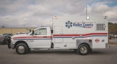 Waller County EMS Vehicle