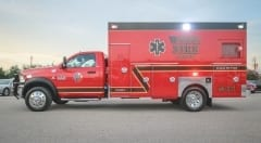 Watauga Fire Custom Ambulance