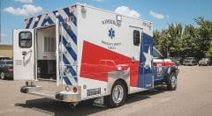 Wimberley EMS Vehicle