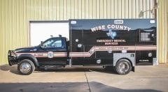 Wise County EMS Vehicle