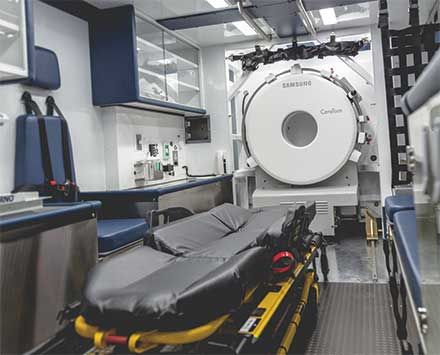 CT Scanner Mounted Unit
