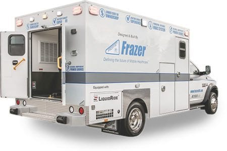 Frazer EMS Vehicle