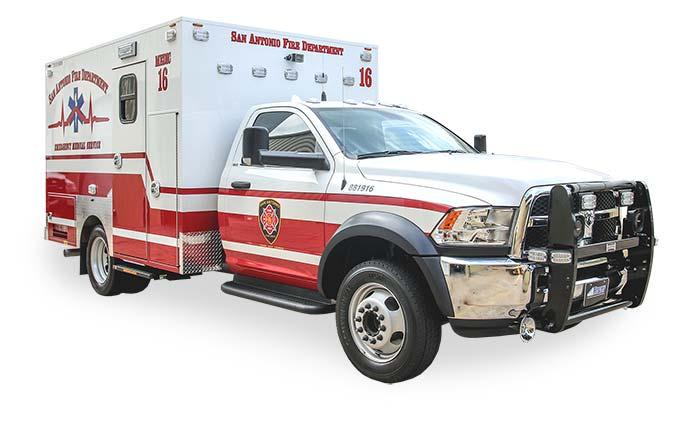 San Antonio EMS unit