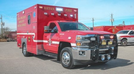 Custom Bryan Fire Ambulance