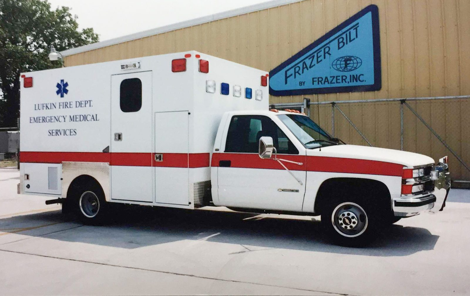 EMS vehicles