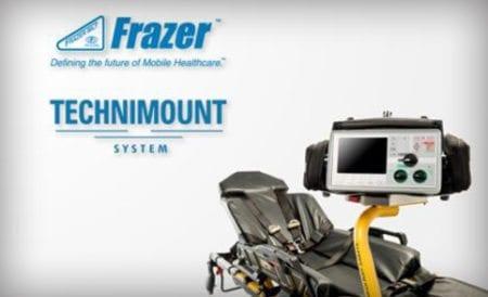 custom EMS vehicle Technimount