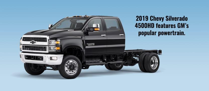 2019 Chevrolet 4500HD Ambulance Chassis
