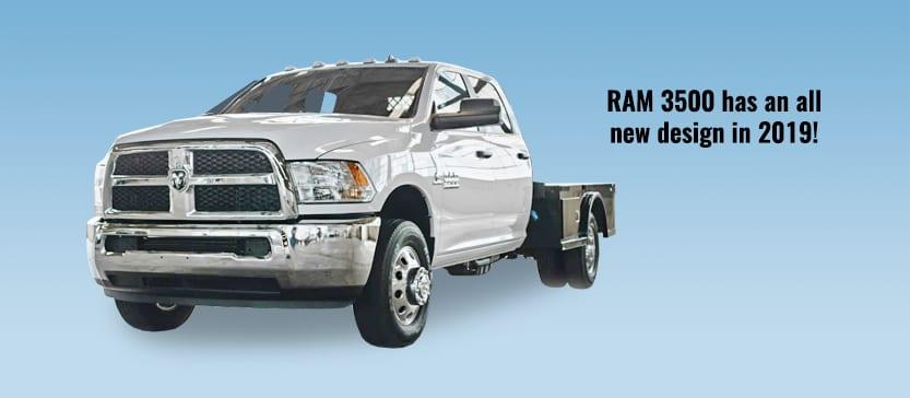 2019 RAM 3500 Ambulance Chassis