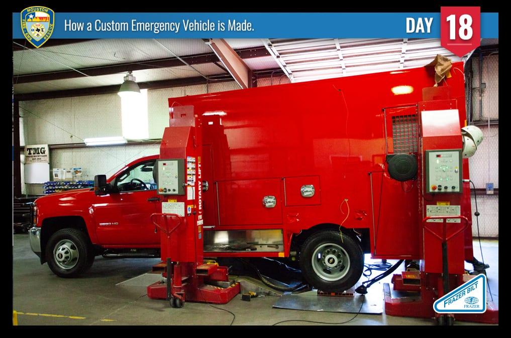 How a Custom Emergency Vehicle is Made - Frazer, Ltd