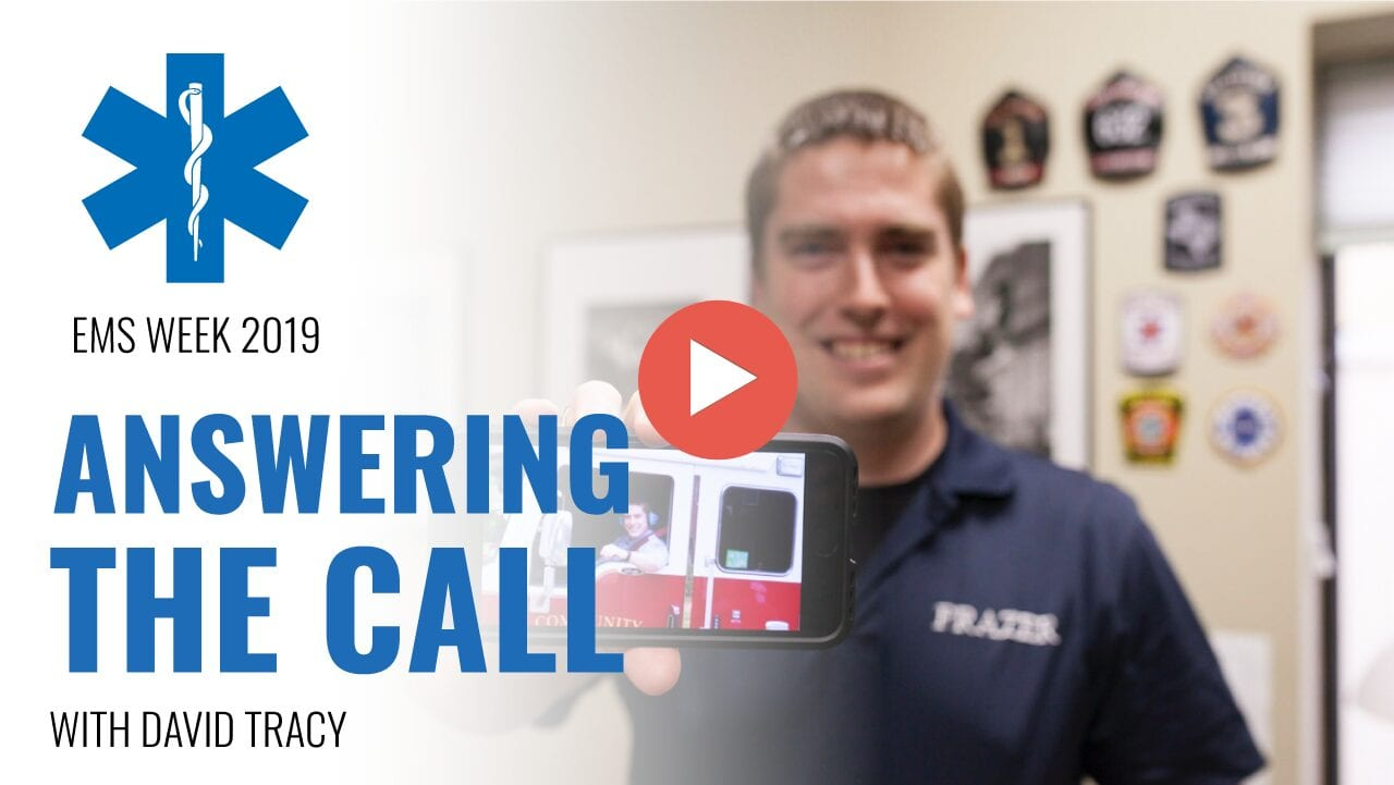 EMS Week 2019 : Answering The Call with David Tracy