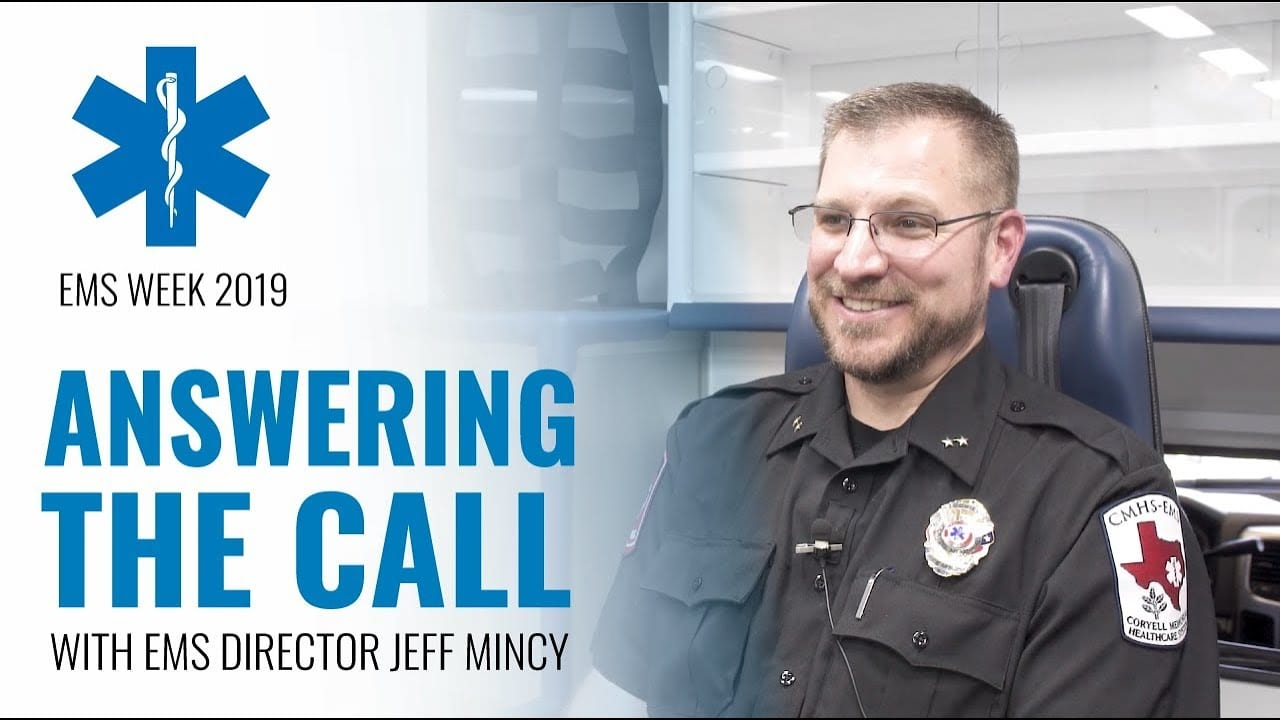EMS Week 2019 : Answering The Call with EMS Director Jeff Mincy